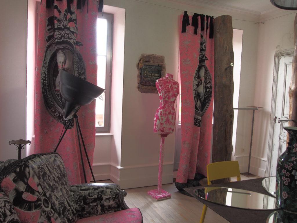 Salon Marie-Antoinette, atelier Cléone