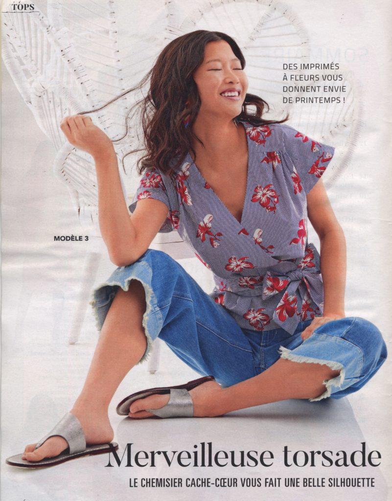 # Cache-coeur Tendance couture simplicity n° 40
