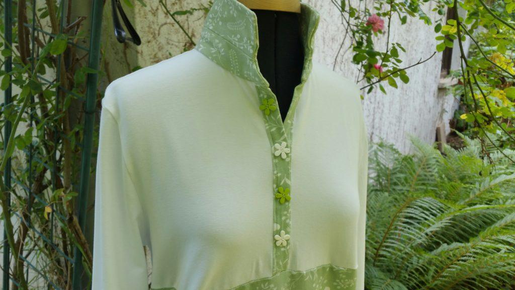# Robe polo Burda Style d'avril 2021 modèle 113
