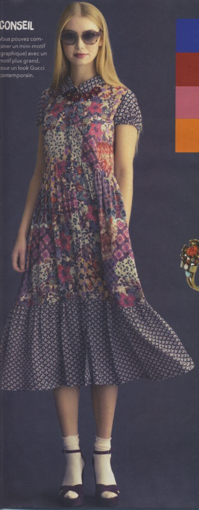 # Robe chemise / tunique Fashion Style n° 14, modèle 20 (mars 2017)